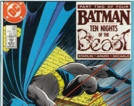 Batman 418 Apr 1988 NM- (9.2)