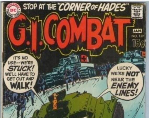 GI Combat 139 Jan 1970 VG (4.0)