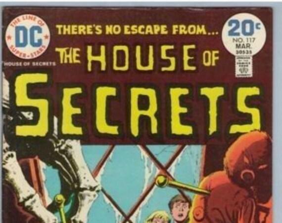 House of Secrets 117 Mar 1974 FI- (5.5)