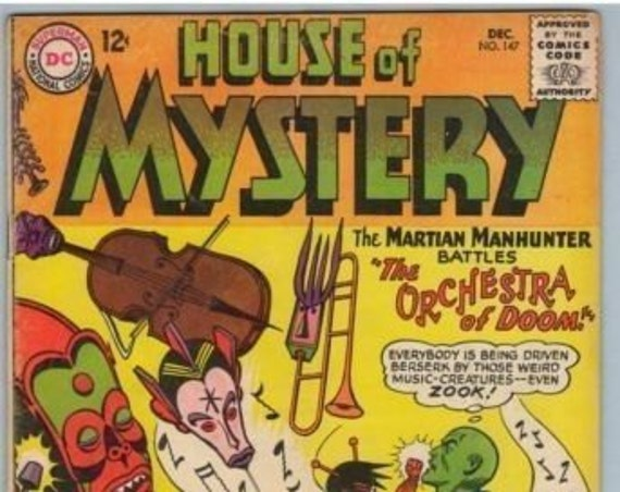House of Mystery 147 Dec 1964 VG (4.0)