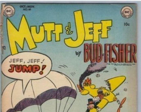 Mutt and Jeff 60 Nov 1952 VG- (3.5)