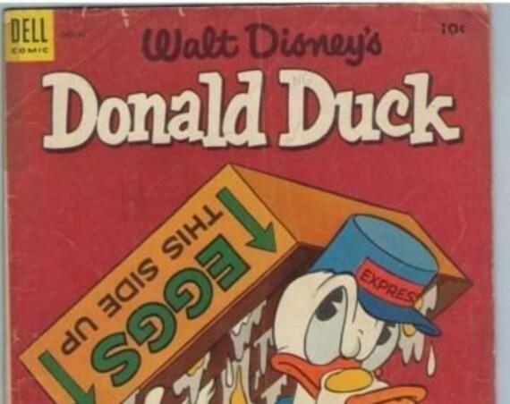 Donald Duck 34 Apr 1954 GD-VG (3.0)