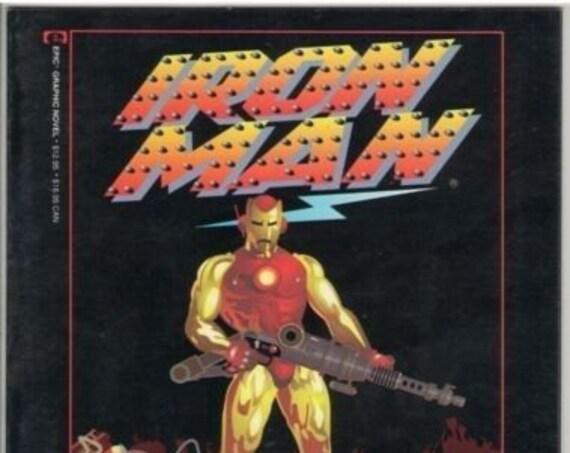 Iron Man - Crash GN 1984 VF (8.0)