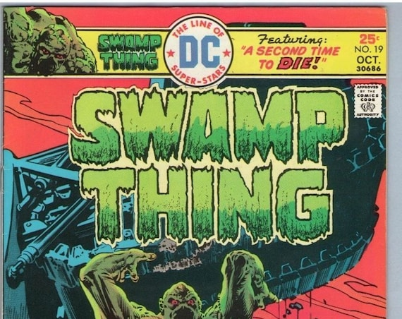 Swamp Thing 19 Oct 1975 VF+ (8.5)