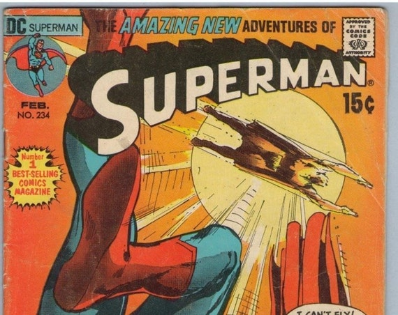 Superman 234 Feb 1971 VG- (3.5)