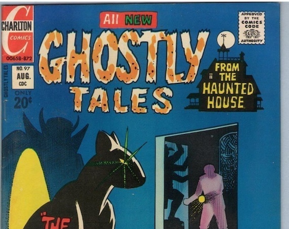 Ghostly Tales 97 Aug 1972 FI+ (6.5)