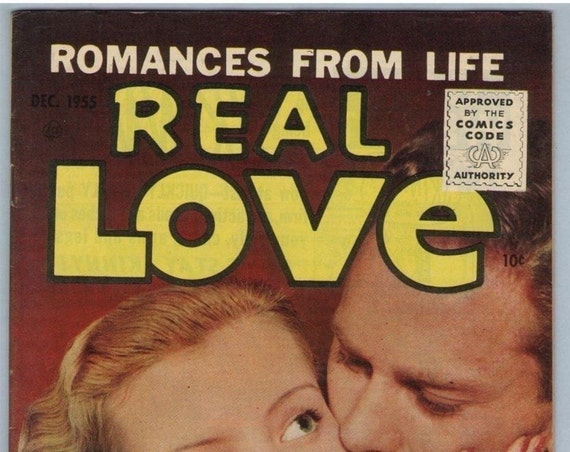 Real Love 71 Dec 1955 FI-VF (7.0)