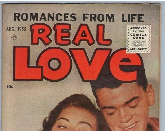 Real Love 69 Aug 1955 VF- (7.5)