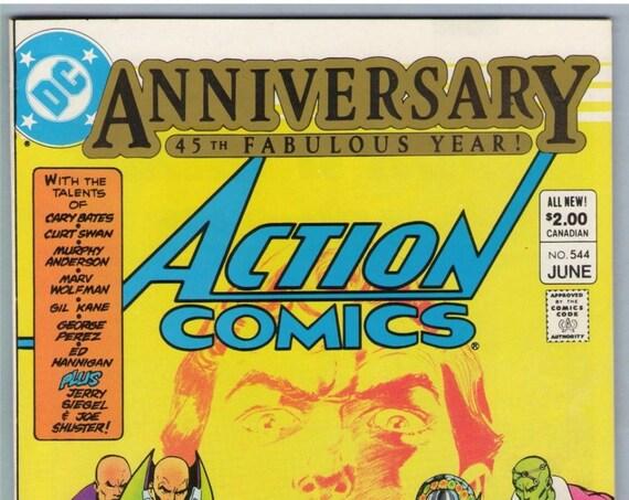 Action Comics 544 Jun 1983 NM- (9.2)