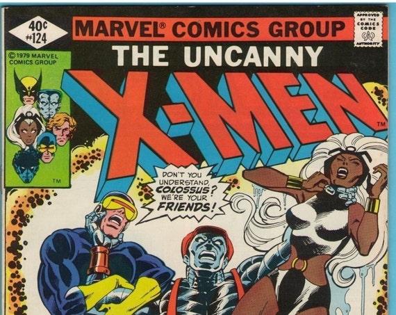 X-Men 124 Aug 1979 VF (8.0)