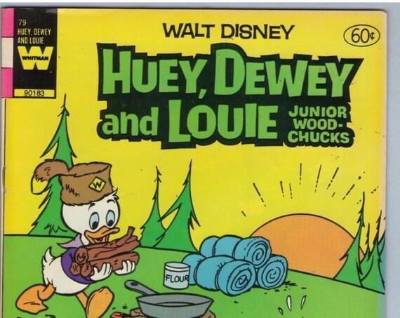 Huey Dewey and Louie 79 Apr 1983 VF (8.0)