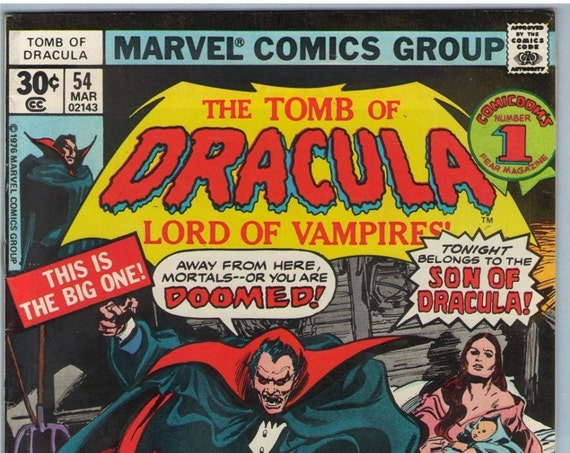 Tomb of Dracula 54 Mar 1977 FI+ (6.5)