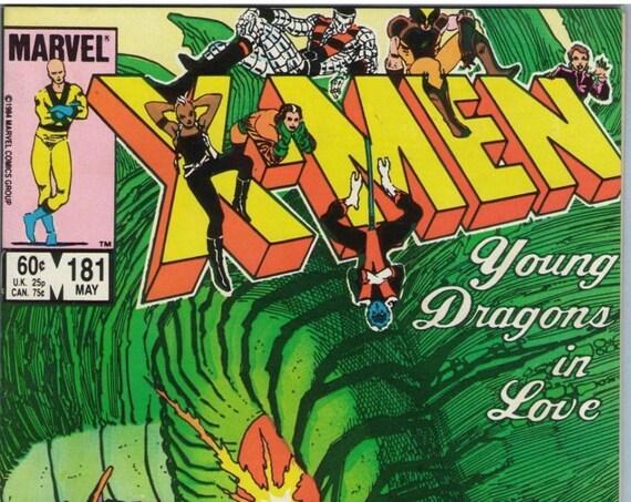 X-Men 181 Mar 1984 NM- (9.2)