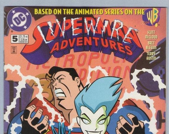 Superman Adventures 5 Mar 1997 NM- (9.2)