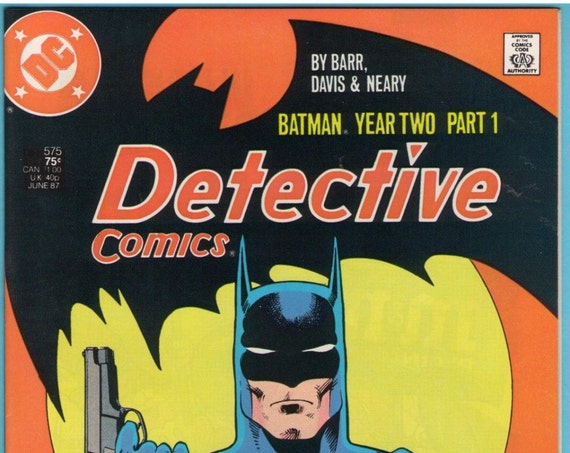 Detective Comics 575 Jun 1987 NM- (9.2)