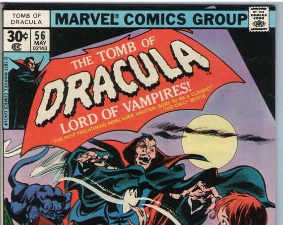 Tomb of Dracula 56 May 1977 VF (8.0)