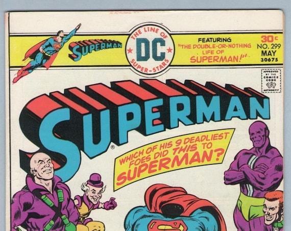 Superman 299 May 1976 VF- (7.5)