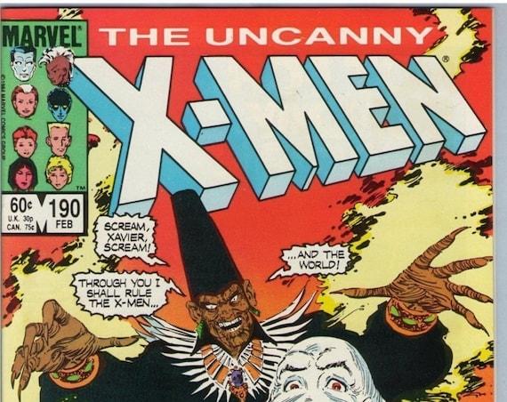 X-Men 190 Feb 1985 NM- (9.2)
