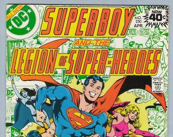 Superboy 250 Apr 1979 NM- (9.2)