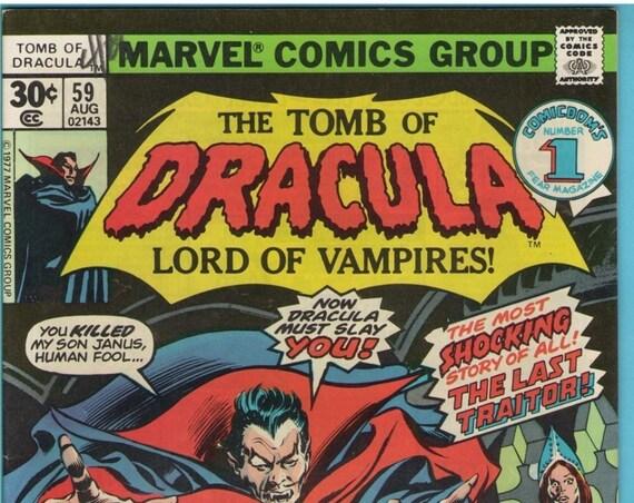 Tomb of Dracula 59 Aug 1977 VF (8.0)