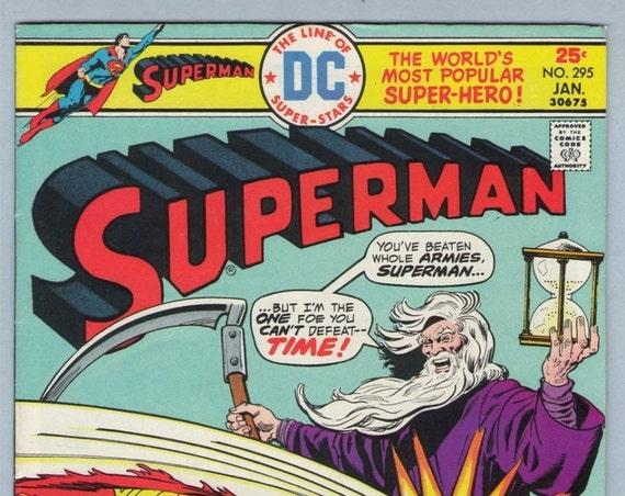 Superman 295 Jan 1976 VF- (7.5)