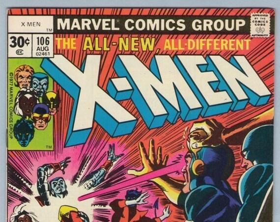 X-Men 106 Aug 1977 VF- (7.5)