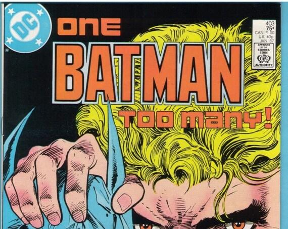 Batman 403 Jan 1987 NM- (9.2)
