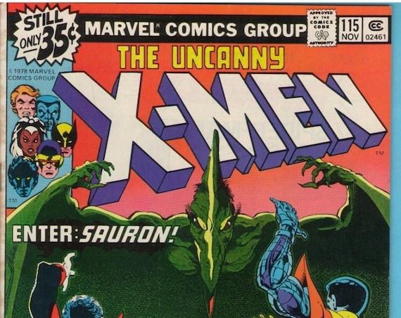 X-Men 115 Nov 1978 VF (8.0)