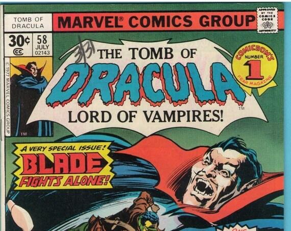 Tomb of Dracula 58 Jul 1977 VF (8.0)