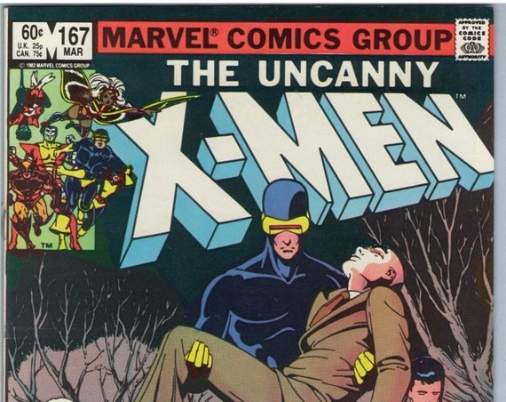 X-Men 167 Mar 1983 VF-NM (9.0)