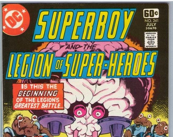 Superboy 241 Jul 1978 VF-NM (9.0)