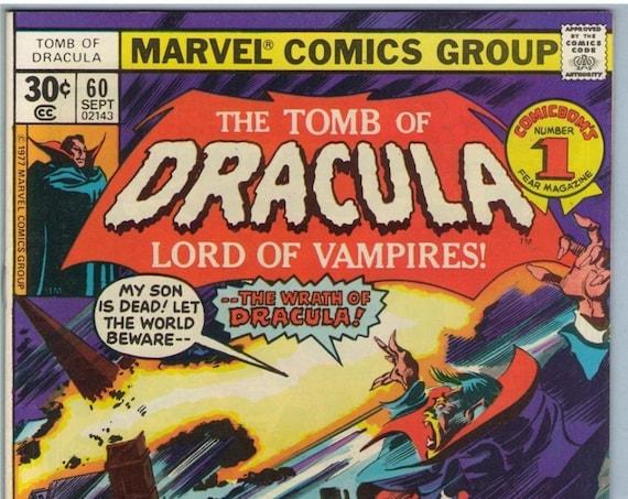 Tomb of Dracula 60 Sep 1977 FI (6.0)