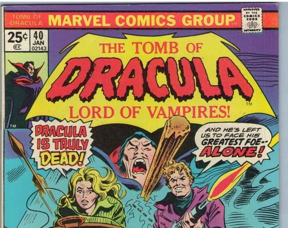 Tomb of Dracula 40 Jan 1976 FI+ (6.5)