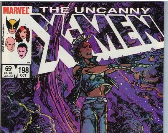 X-Men 198 Oct 1985 NM- (9.2)