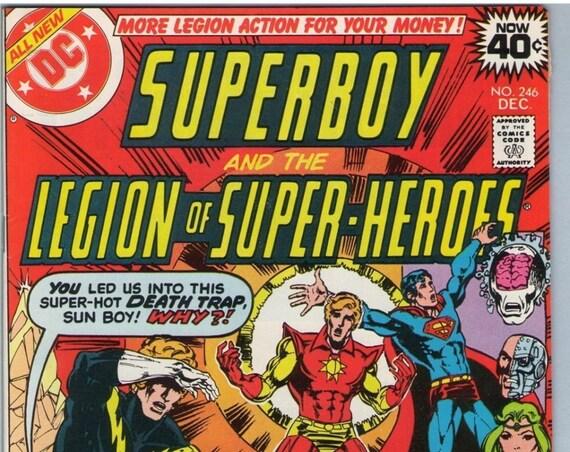Superboy 246 Dec 1978 VF-NM (9.0)