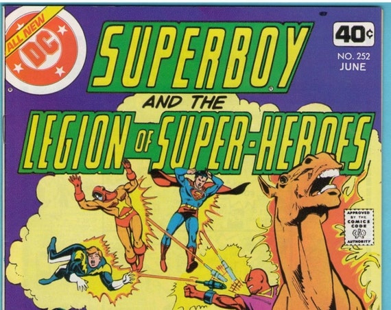 Superboy 252 Jun 1979 NM- (9.2)