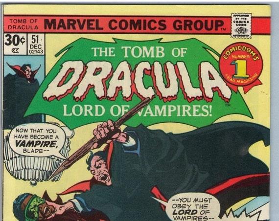 Tomb of Dracula 51 Dec 1976 FI (6.0)