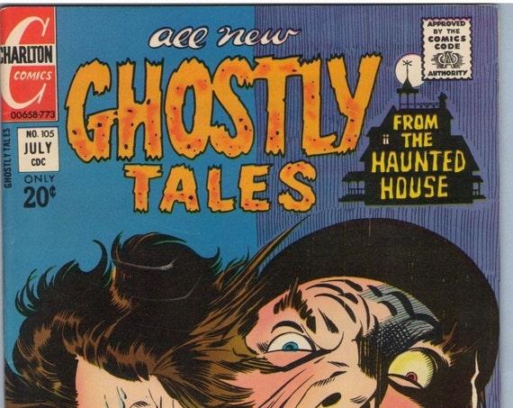 Ghostly Tales 105 Jul 1973 NM- (9.2)