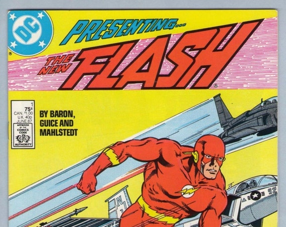 Flash V2 1 Jun 1987 NM- (9.2)