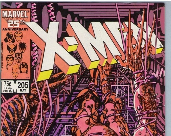 X-Men 205 May 1986 VF (8.0)
