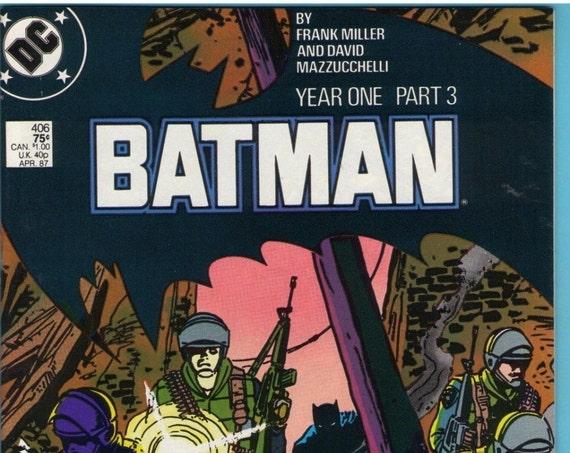 Batman 406 Apr 1987 NM- (9.2)
