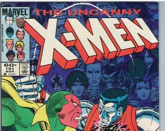 X-Men 191 Mar 1985 NM- (9.2)