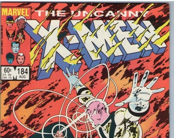 X-Men 184 Aug 1984 NM- (9.2)