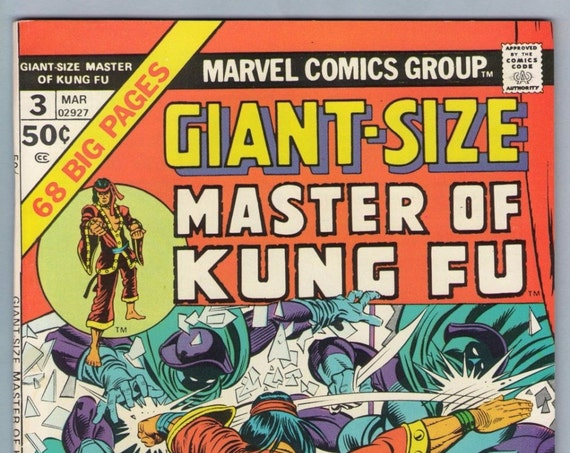 Giant-Size Master of Kung Fu 3 Mar 1975 VF+ (8.5)
