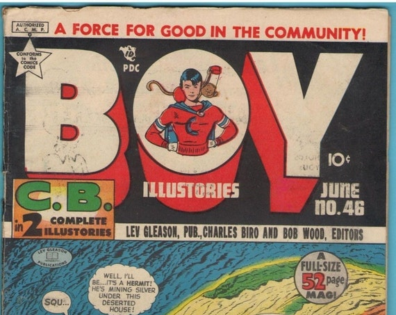 Boy Illustories 46 Jun 1949 VG (4.0)