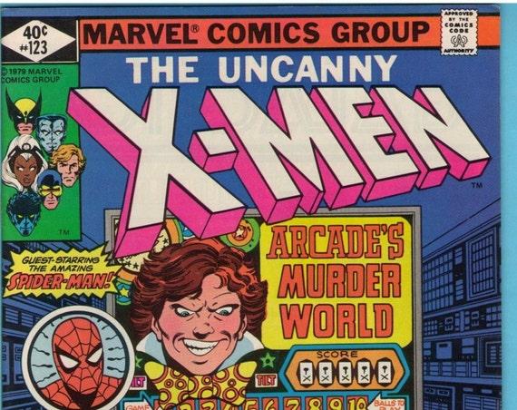 X-Men 123 Jul 1979 VF (8.0)