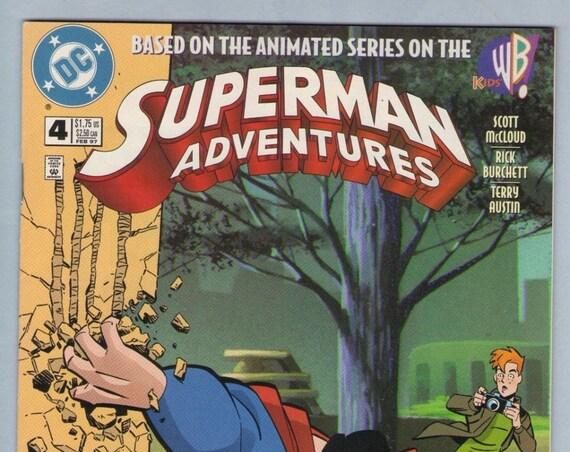 Superman Adventures 4 Feb 1997 NM- (9.2)
