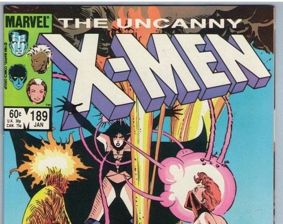 X-Men 189 Jan 1985 NM- (9.2)