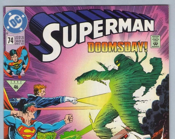 Superman V2 74 Dec 1992 NM- (9.2)