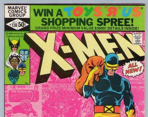X-Men 138 Oct 1980 NM- (9.2)